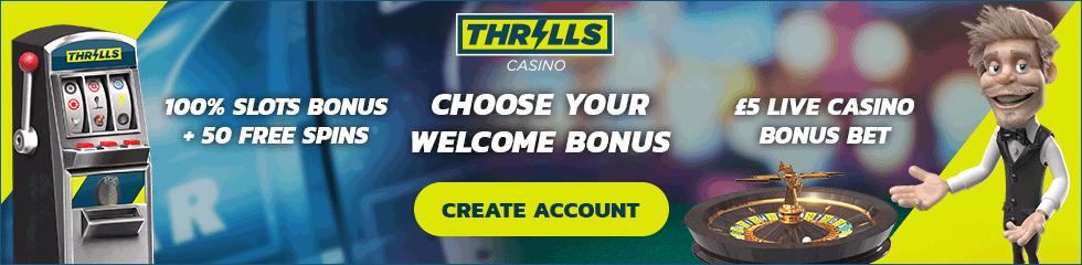 Thrills Casino   Pelaa Mayana & saat ilmaiskierroksia