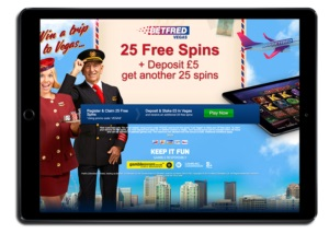 betfred vegas casino bonus