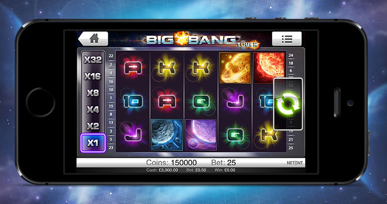 Big Bang Touch Slot Netent
