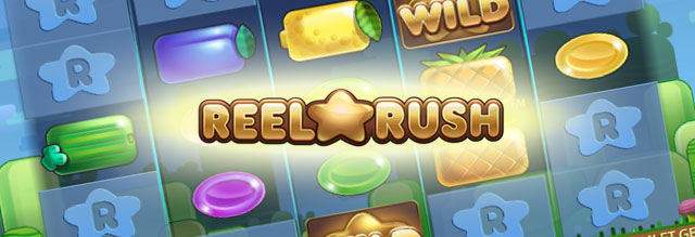 reel rush slot top banner