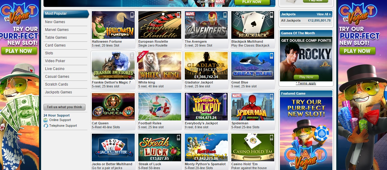 william hill online casino book of free
