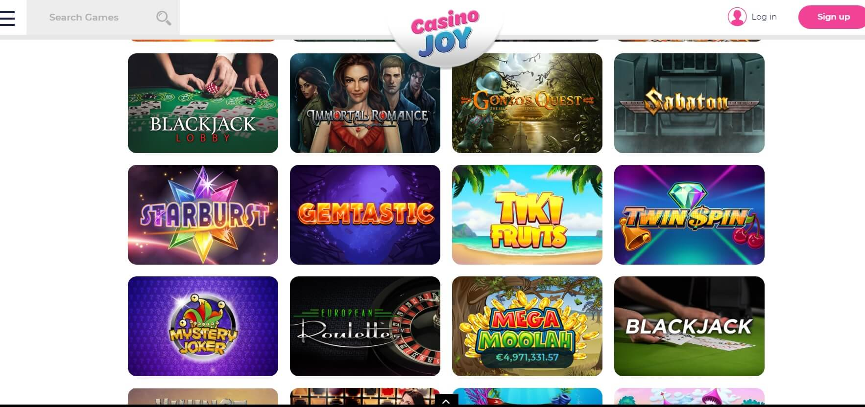 casino joy online review uk