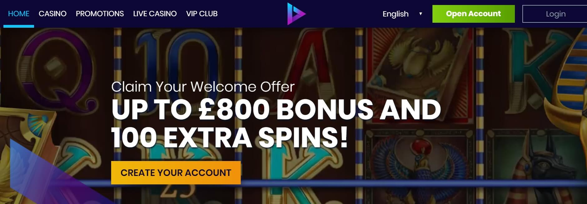 casiplay casino bonus new