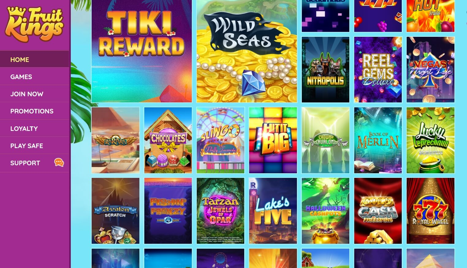 fruitkings casino games slots
