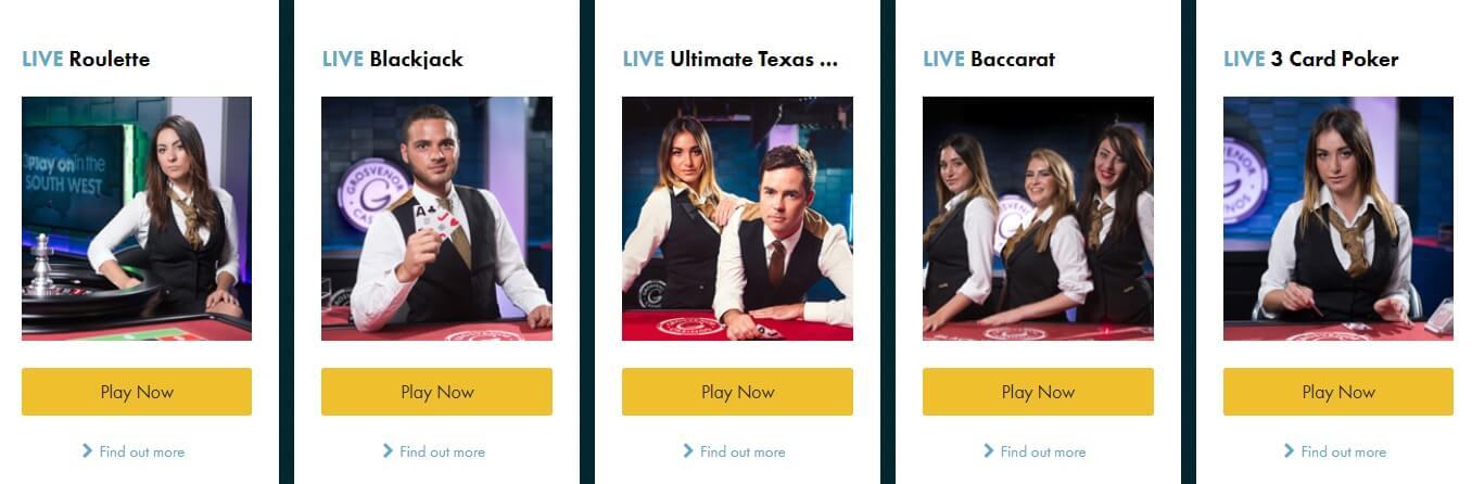 grosvenor casino online mobile