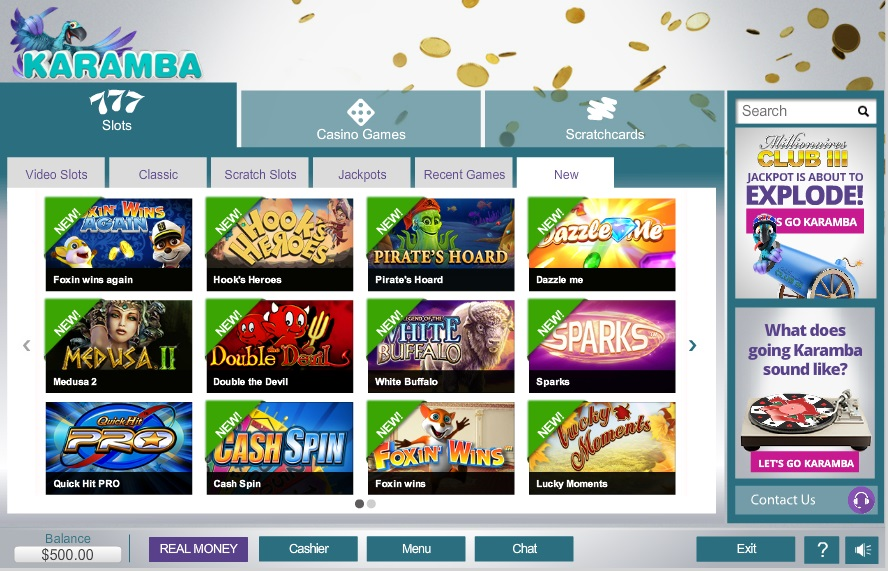 karamba online casino games twist slot