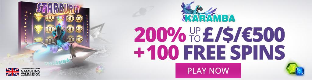 Karamba Slots Casino Online Review With Promotions & Bonuses