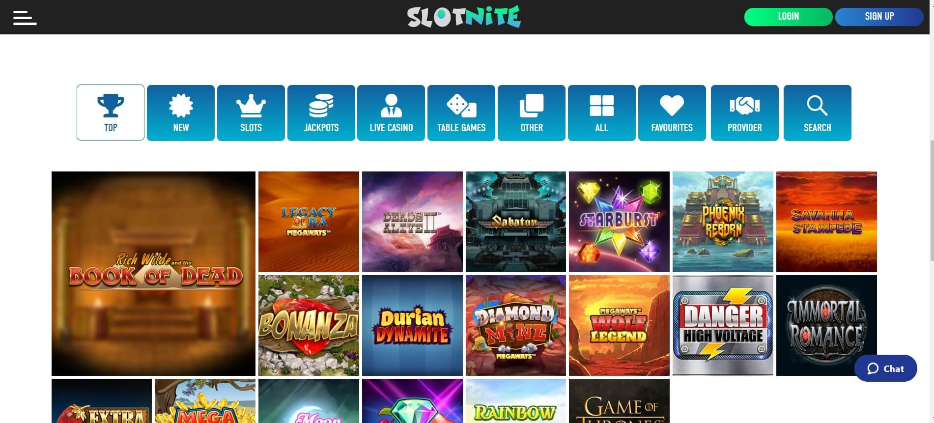 slotnite casino games and slots