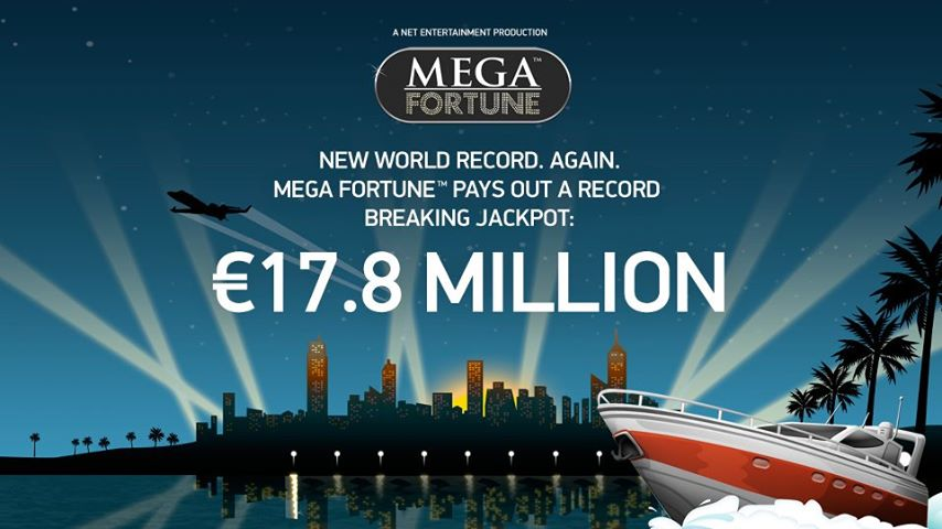 record breaking mega fortune jackpot slot