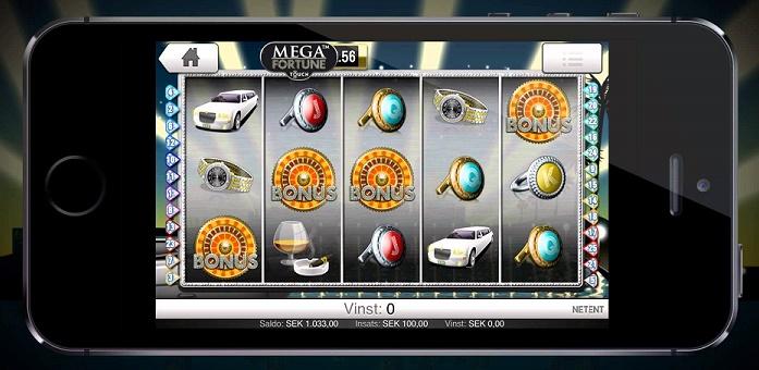 casino betting online mega fortune
