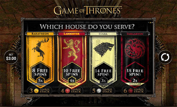 game of thrones mobile slot microgaming