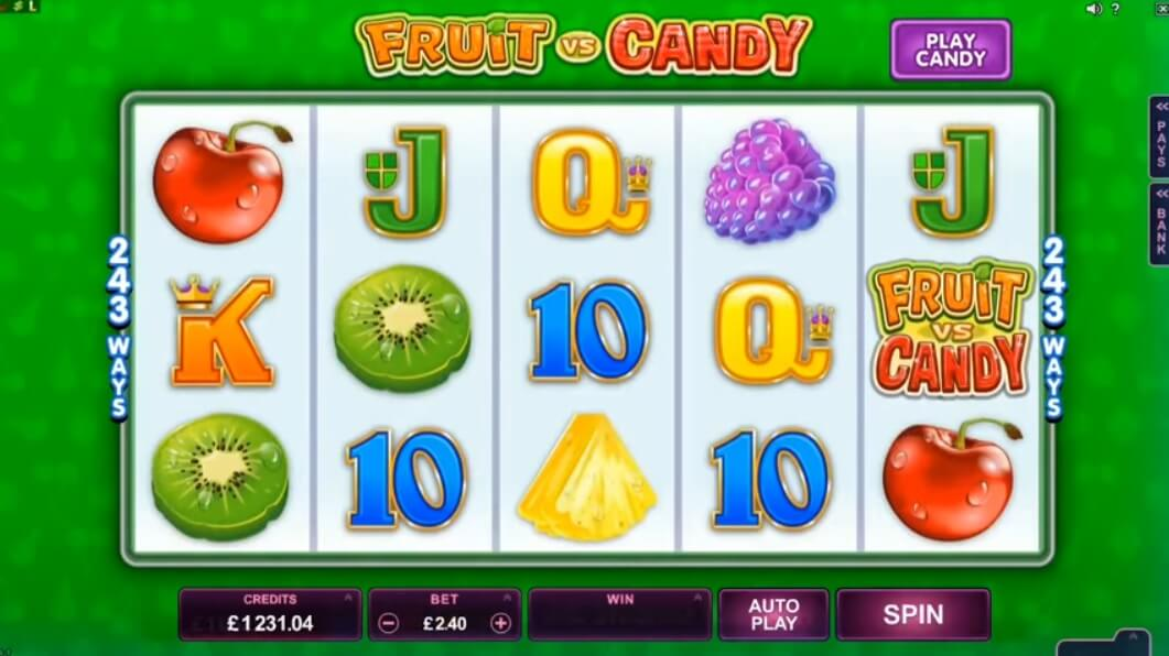 fruit vs candy slot machine review best microgaming casino sites