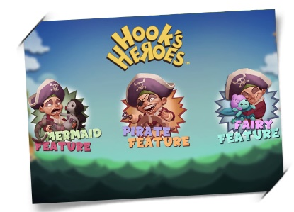 hooks heroes slot free spins