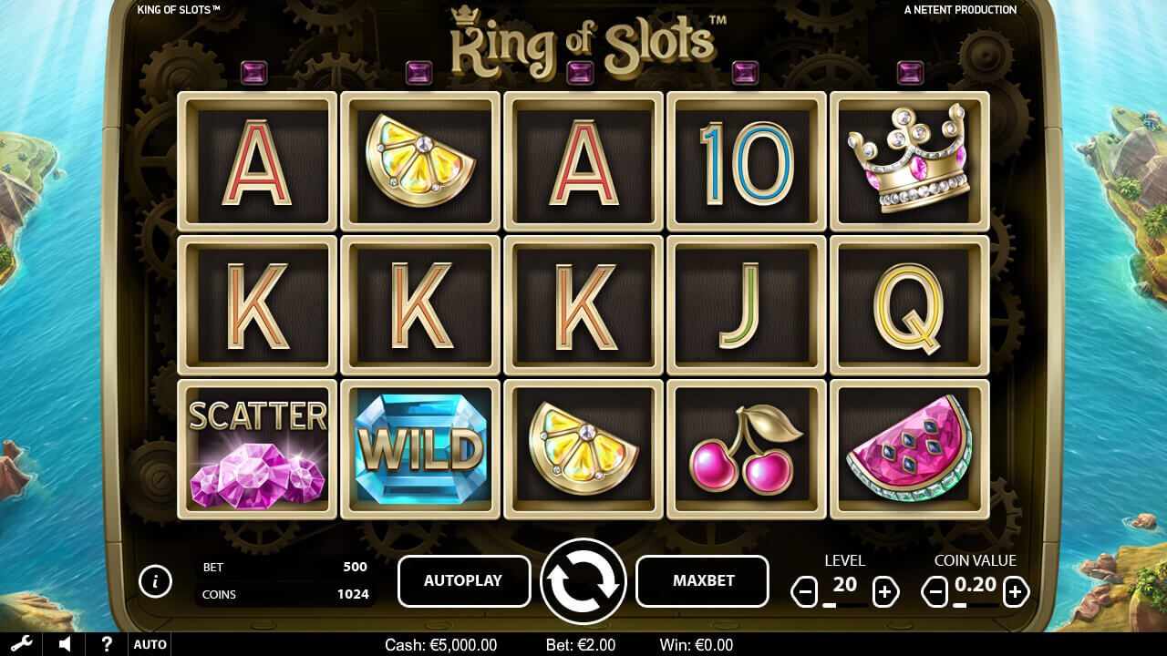 king of slots screen shot
