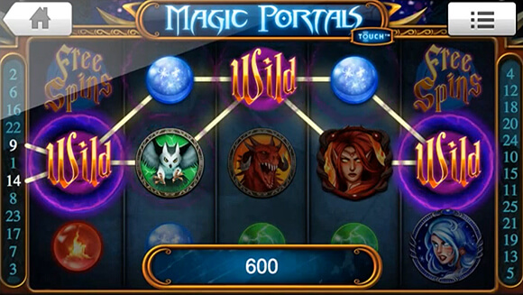 Magic Portals Mobile Slot Review