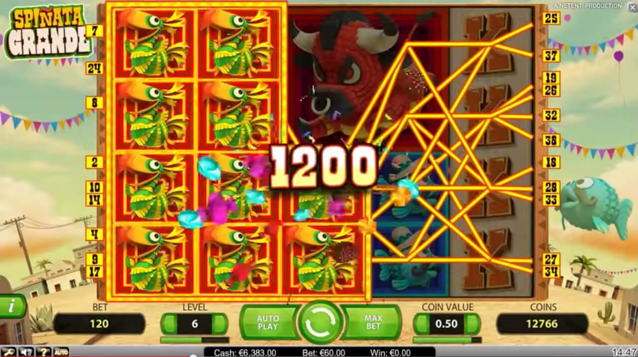 spinata grande slot review