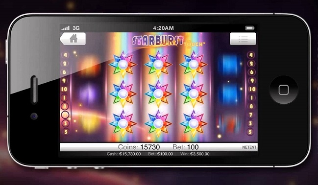 starburst touch review netent sots