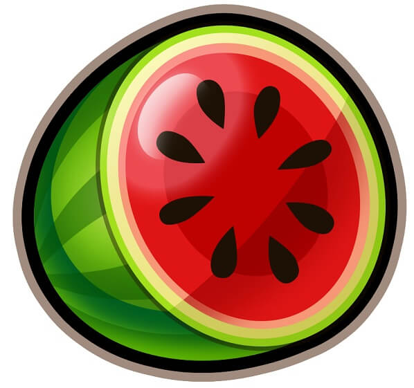 swipe & roll watermelon
