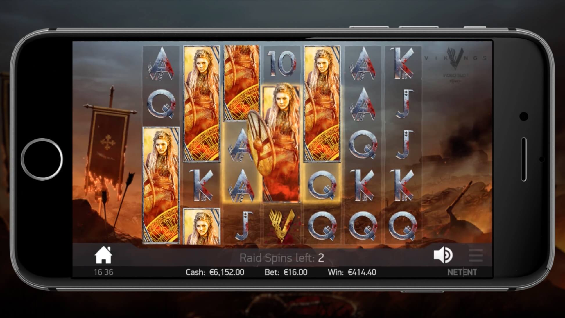 vikings slot mobile version netent