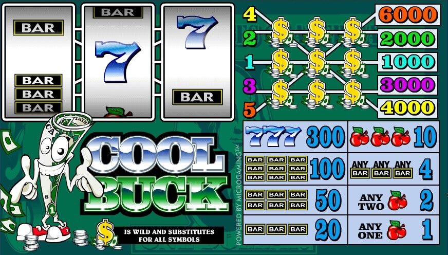 cool buck slot machine online