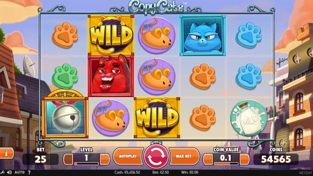 new copy cats slot