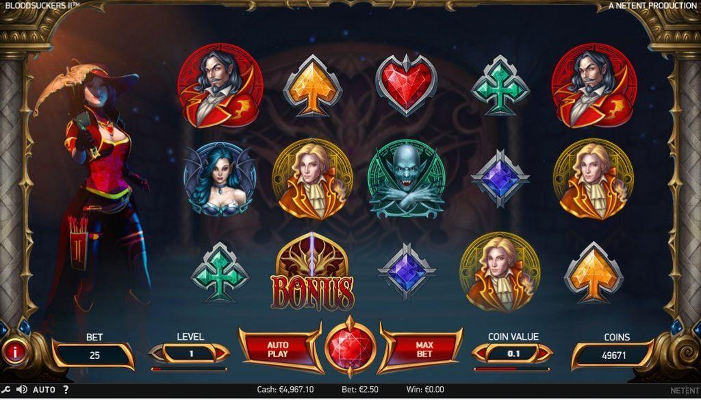 Bloodsuckers slots