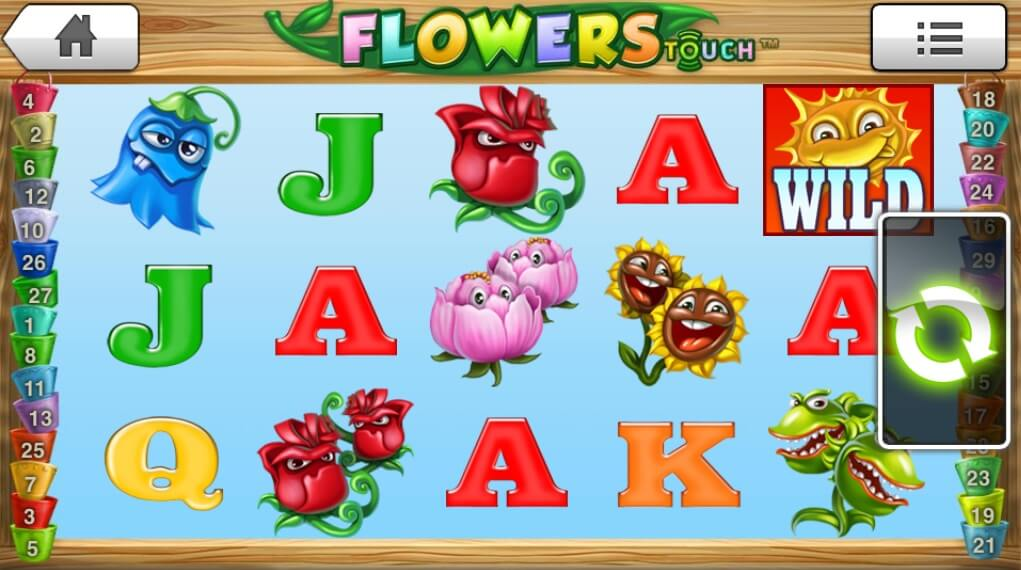 flowers mobile slot review