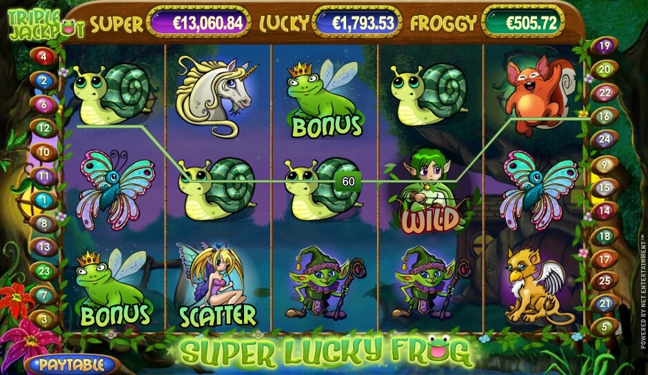 super lucky frog casino slots