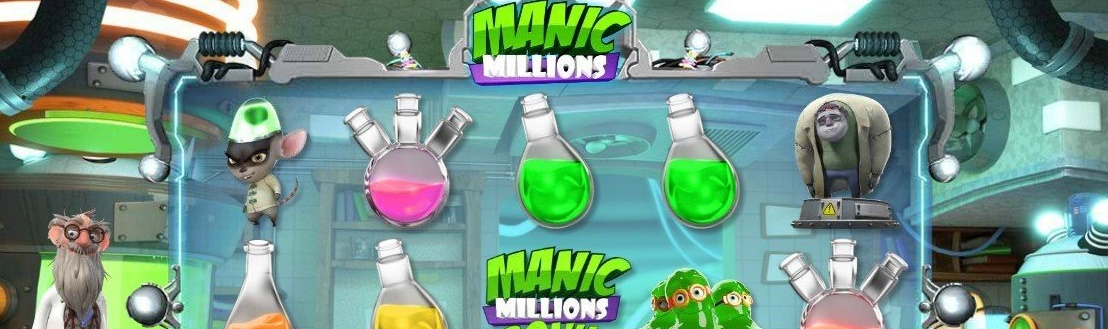 manic millions slot review