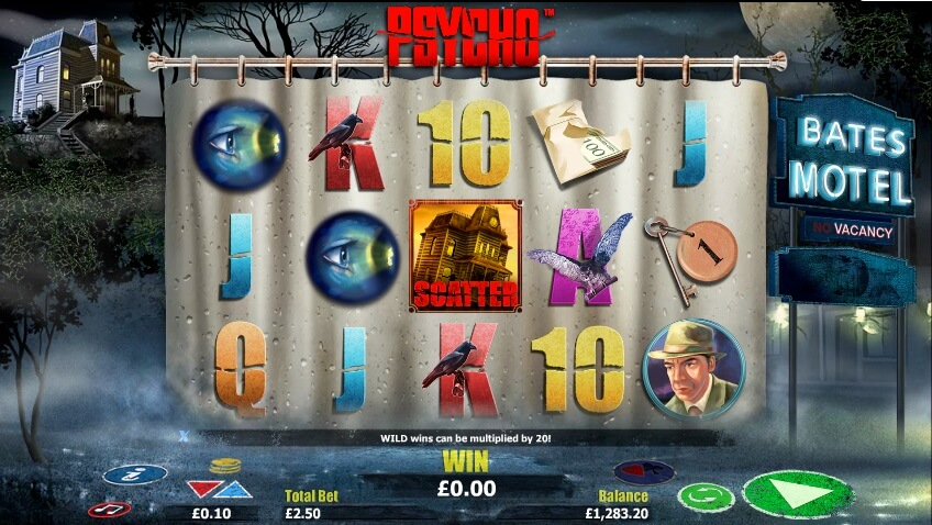 casinos which have psycho slot review