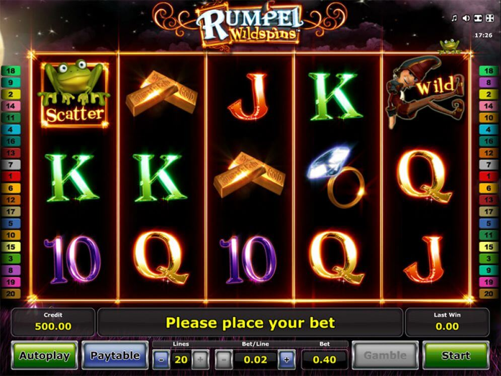 Rumpel WildSpins Slot Machine