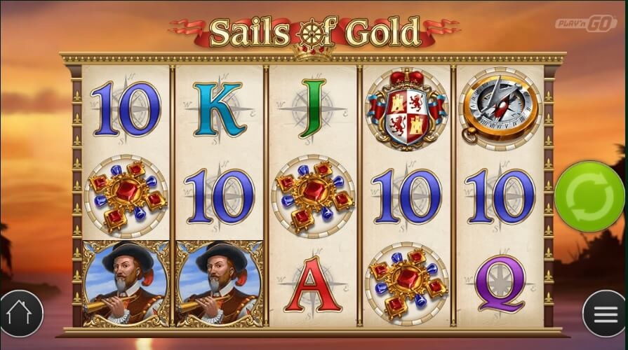 play n go sails of gold slot
