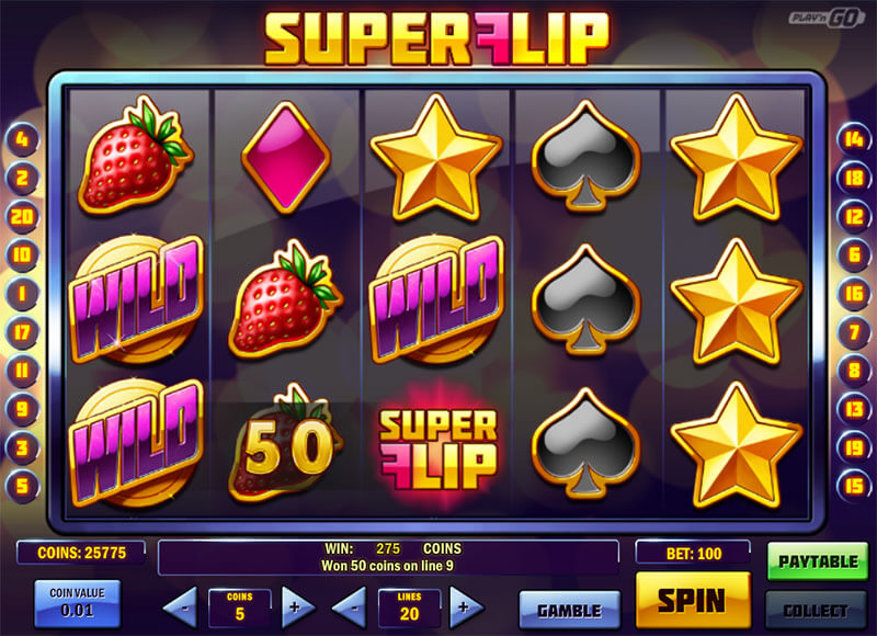 super flip slot machine casinos