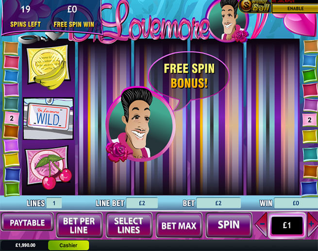 dr love more slot free games