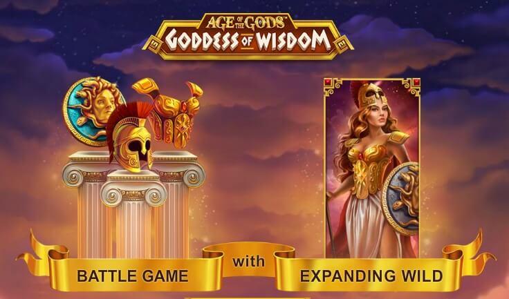 Flashback hunter age of the gods goddess of wisdom playtech slot game zeros gambling