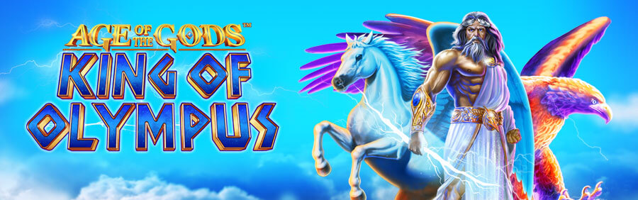 age of the gods king of olympus slot review all casino sites