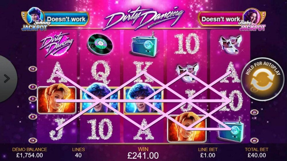 dirty dancing slots casino sites