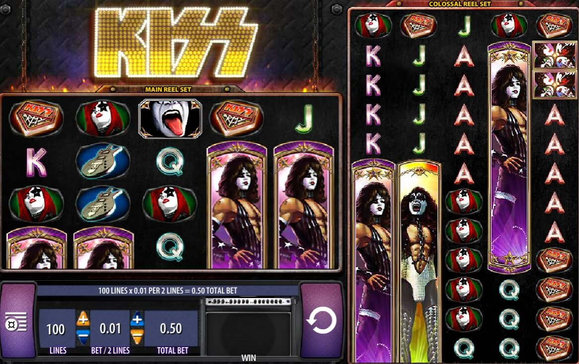 KISS Slots Online – Play the Free KISS Slot Machine by WMS