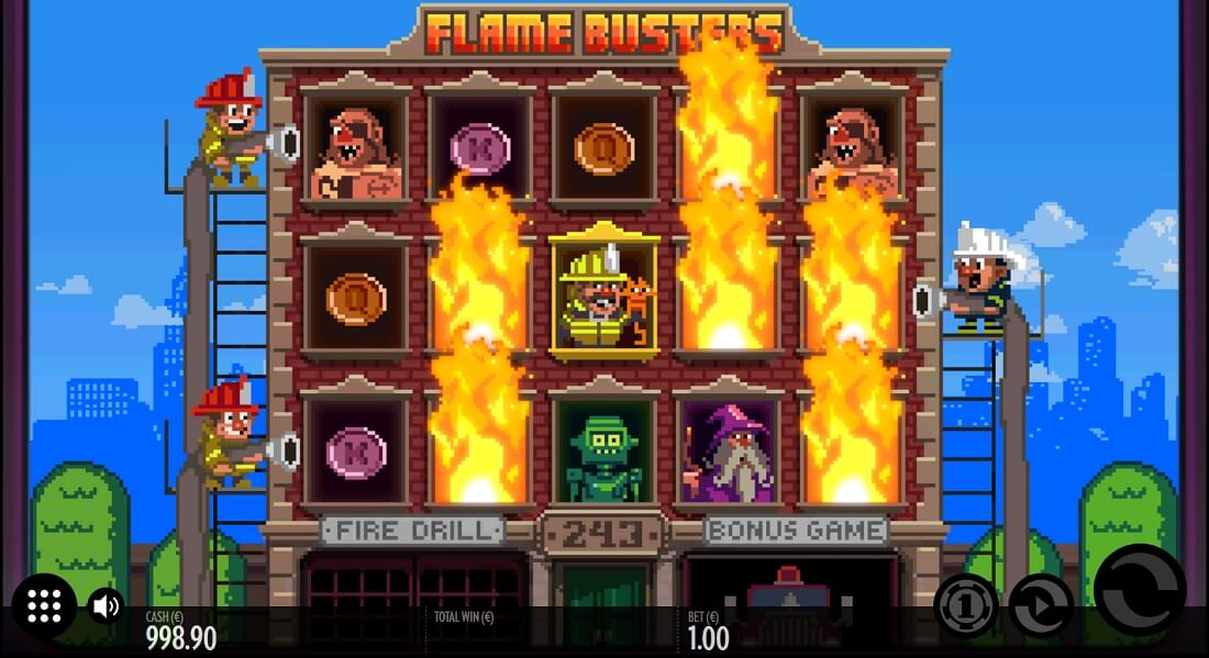 flamebusters slot screenshot